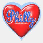I Love Philly Sticker