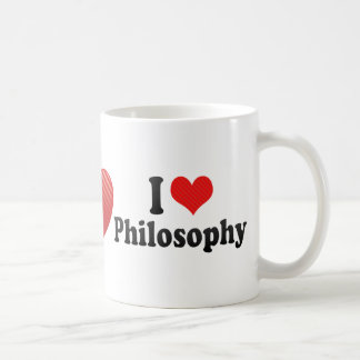 I Love Philosophy Coffee Mugs