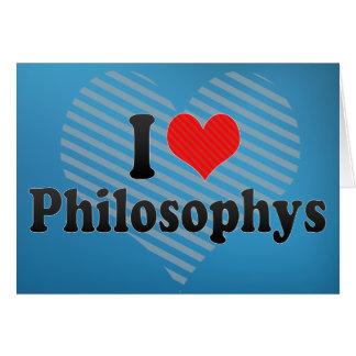 I Love Philosophys Cards