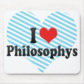 I Love Philosophys Mousepads