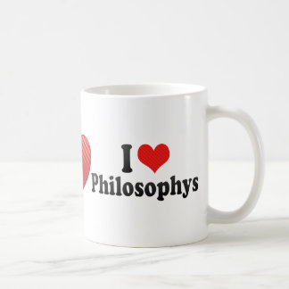 I Love Philosophys Coffee Mug