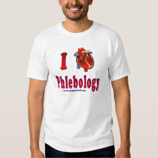 I Love Phlebology Shirt