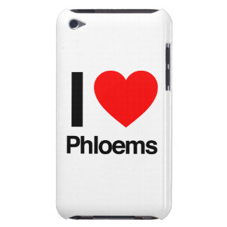 i love phloems iPod touch cases