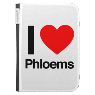 i love phloems cases for the kindle