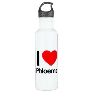 i love phloems 24oz water bottle