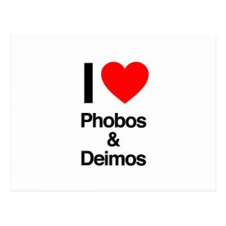 i love phobos and deimos postcard