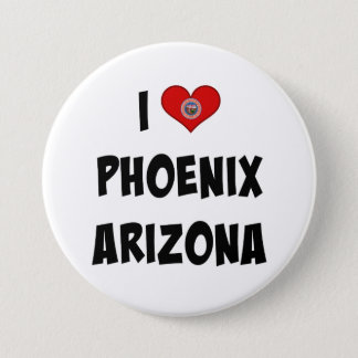 I Love Phoenix, Arizona Button