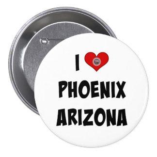 I Love Phoenix, Arizona Button