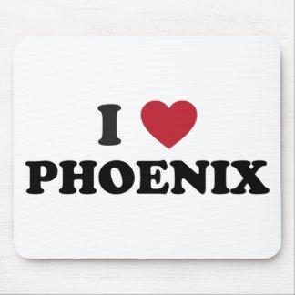I Love Phoenix Mouse Pad