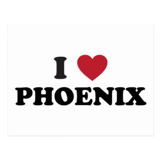 I Love Phoenix Postcard