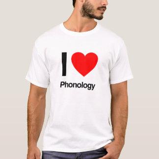 i love phonology T-Shirt