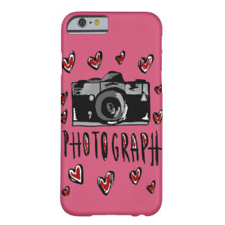I love photograph barely there iPhone 6 case