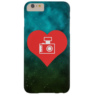 I Love Photographers Cool Symbol Barely There iPhone 6 Plus Case