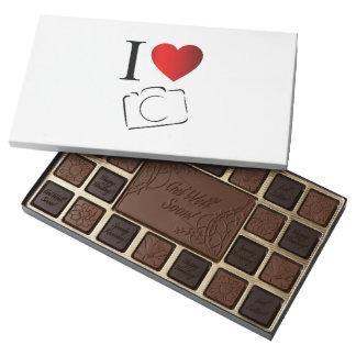 I love photography assorted chocolates