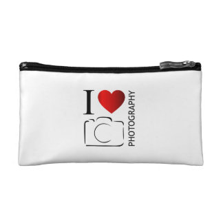 I love photography cosmetic bag