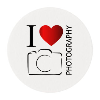 I love photography edible frosting rounds
