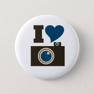 I Love Photography for Women Button