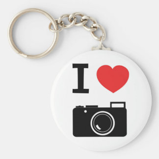 I love photography key chains