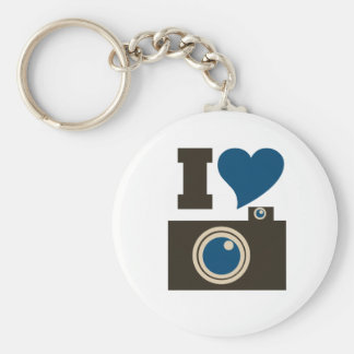 I Love Photography Keychain