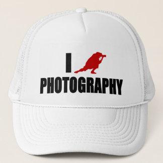 I Love Photography (Modern Version) Trucker Hat