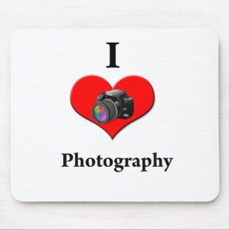 I love photography mouse pad