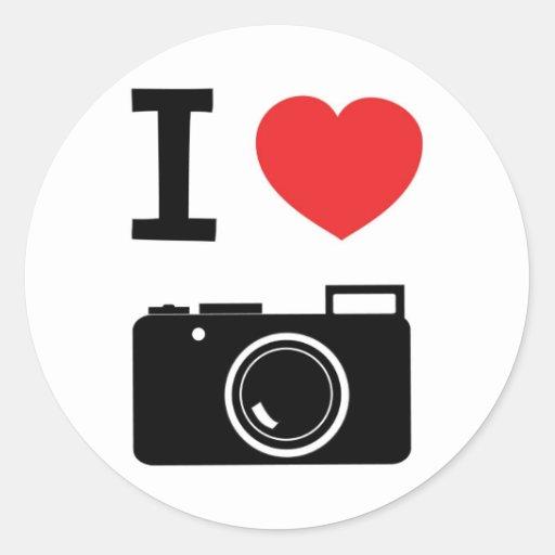 Love photography stickers zazzle
