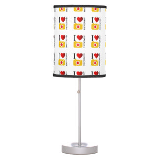 I love photography table lamp