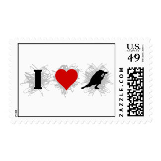 I Love Photography Urban Style (Horizontal) Stamps