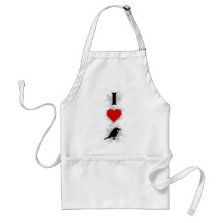I Love Photography Urban Style (Vertical) Adult Apron