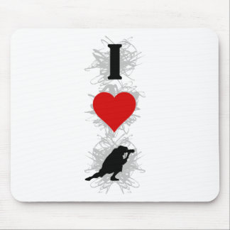 I Love Photography Urban Style (Vertical) Mouse Pad