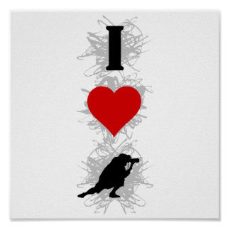 I Love Photography Urban Style (Vertical) Poster