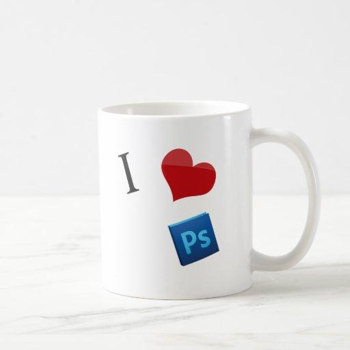 I Love Photoshop Mug