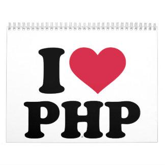 I love php calendar