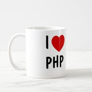 I Love PHP Classic White Coffee Mug