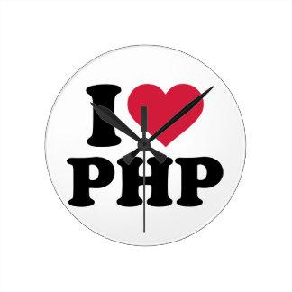 I love php round clock
