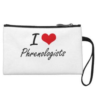 I love Phrenologists Wristlet Purses