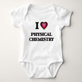 I Love Physical Chemistry Baby Bodysuit