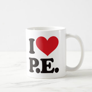 I Love Physical Education! Coffee Mug