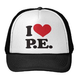 I Love Physical Education! Mesh Hats