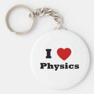 I love Physics Merchandise Keychain
