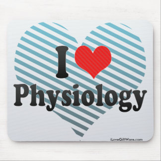 I Love Physiology Mouse Pads