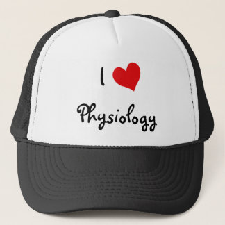 I Love Physiology Trucker Hat
