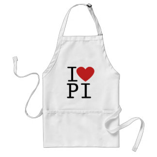 I LOVE PI APRON