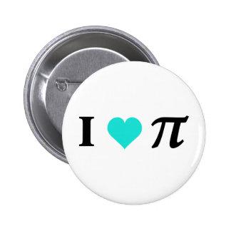 I Love Pi Button