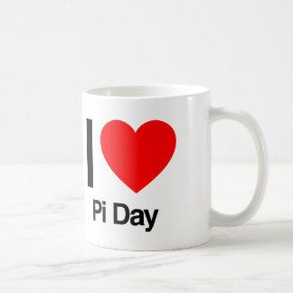 i love pi day mug