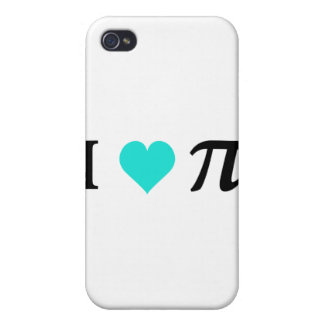 I Love Pi iPhone 4 Cases
