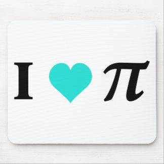 I Love Pi Mouse Pad
