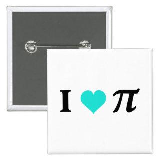 I Love Pi Pins