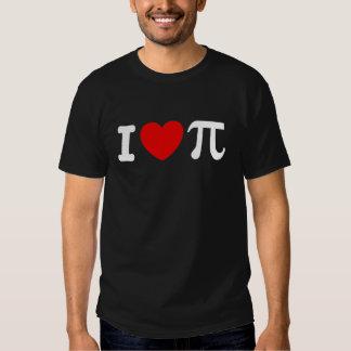 I Love PI Tee Shirt