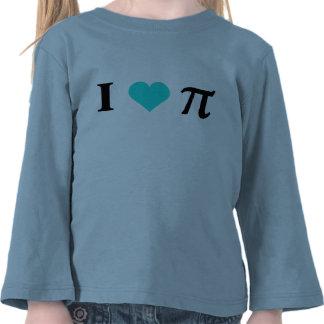 I Love Pi Tees